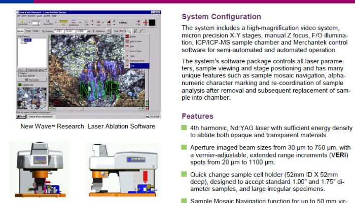 UP266MACRO Large Beam Laser Ablation System- 一起下吧